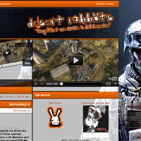 desert rabbits gaming clan website